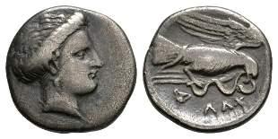 Euboia - Chalcis - Eagle and Snake Drachm