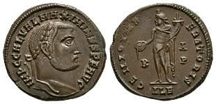 Maximinus II - Genius Bronze