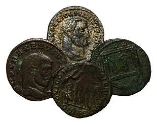 Maxentius and Other - AE Folles Group [4]