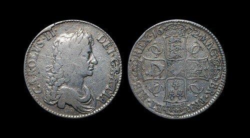 3: Charles II - Crown - 1672 QVARTO