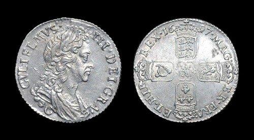 6: James II - Crown - 1687