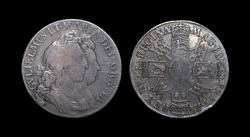 11: William and Mary - Halfcrown - 1693