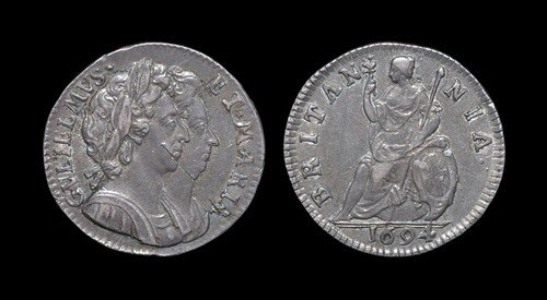 17: William and Mary - Proof Silver Farthing - 1694