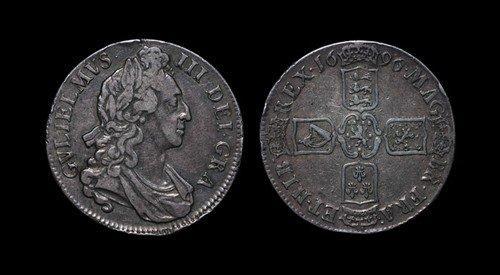 18: William III - Crown - 1696 OCTAVO