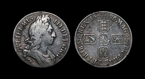 19: William III - Crown - 1696 OCTAVO
