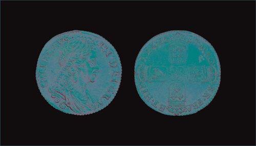 23: William III - Chester Shilling - 1697C