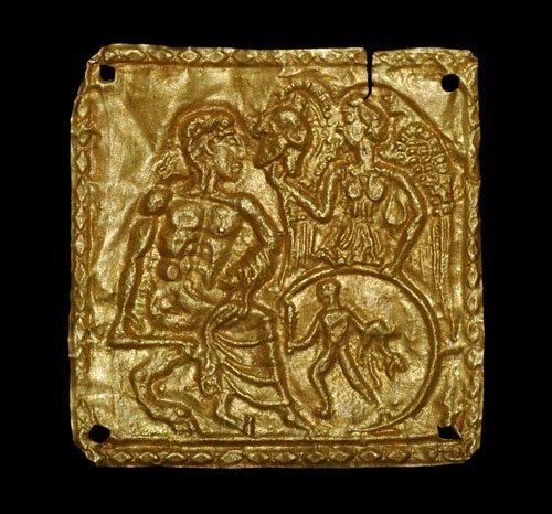 625: Greek - Gold Applique - Nike Presenting Corinthian