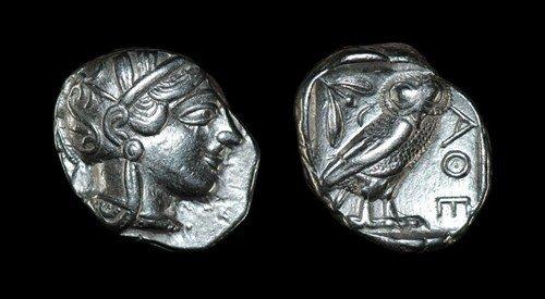 Greek Athens - Tetradrachm