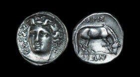 Greek Larissa - Thessaly - Drachm