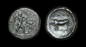 Greek Poseidonia - Lucania - Stater