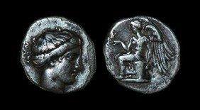 Greek Terina - Bruttium - Stater