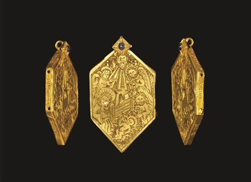Medieval - Nativity Reliquary Pendant