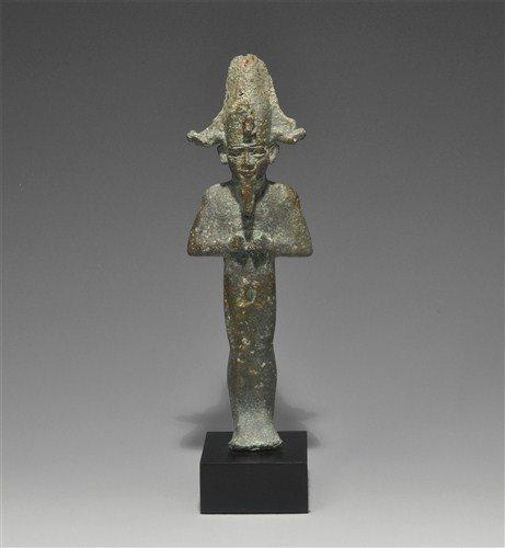 Egyptian Bronze Osiris Figurine