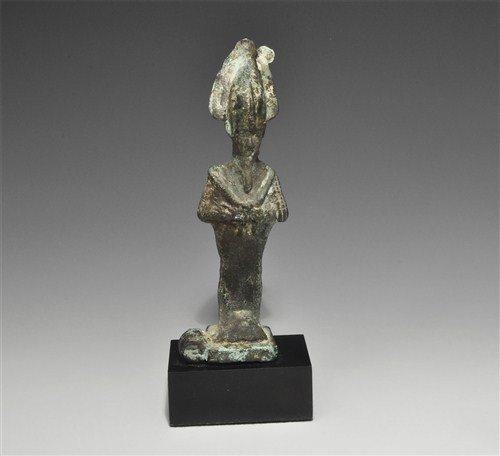 Egyptian Bronze Osiris Mount