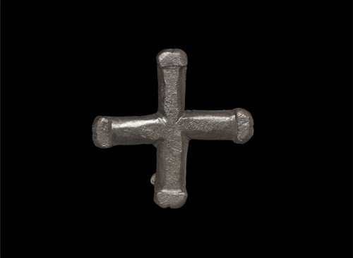 Byzantine Cross Brooch