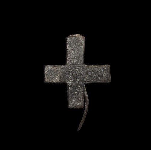 Byzantine Equal-Arm Cross Brooch