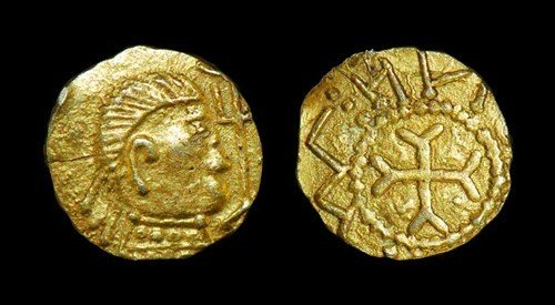 Anglo-Saxon Crondall Series - Witmen Derived - Gold Shi