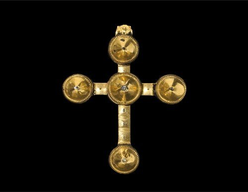 Post Medieval Gold French Arles Cross