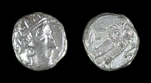 17: Greek Athens - Owl - Tetradrachm
