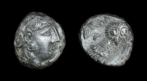 18: Greek Athens - Imitative Tetradrachm