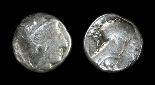 19: Greek Judea(?) - Imitative Athens Tetradrachm