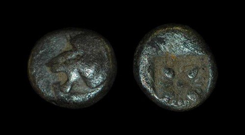 21: Greek Miletos - Ionia - 1/12th Stater