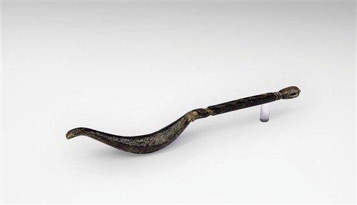 Roman Bronze Decorated Strigil