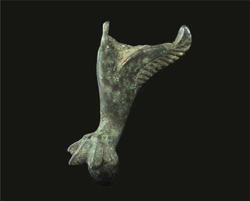 Roman Bronze Casket Leg