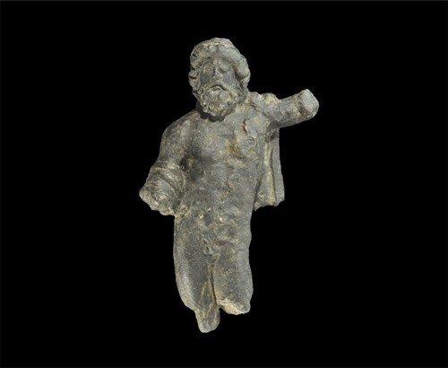 Roman Bronze Jupiter Figurine
