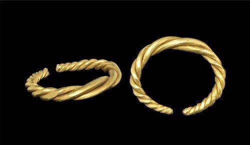 Viking Gold Twist Ring