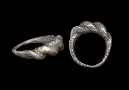 Viking Silver Finger Ring