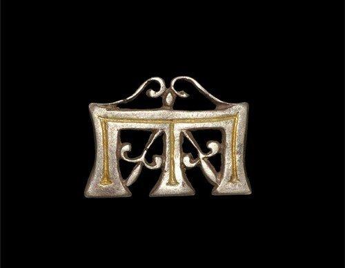 Medieval Silver-Gilt Westminster Abbey Votive Badge