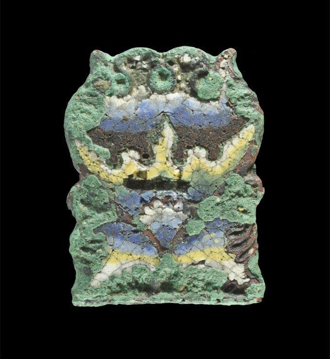 Medieval Limoges Reliquary Casket Mount