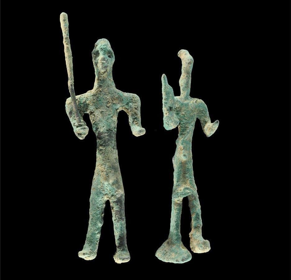 Elamite Style Bronze Figural Group