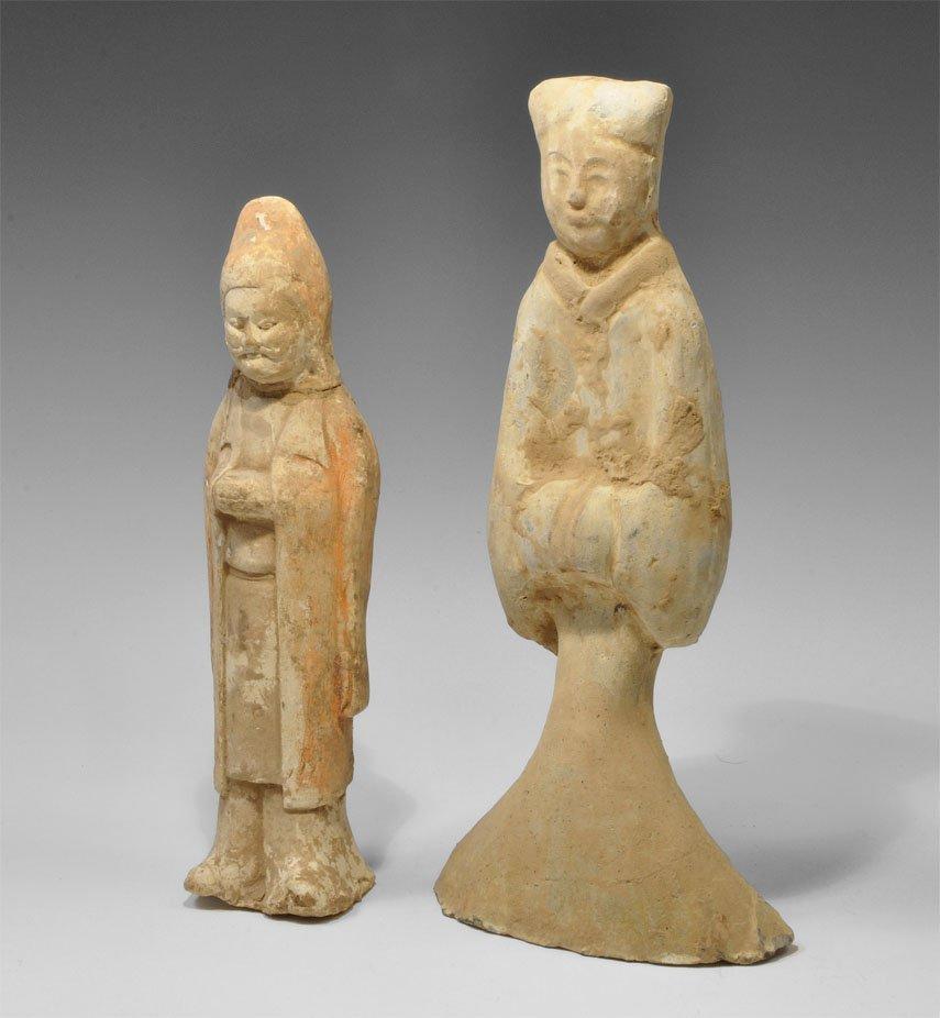 Chinese Ceramic Figurine Group