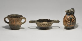 Greek Apulian Miniature Vessel Group