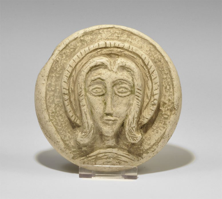 Post Medieval Byzantine Style Marble Plaque