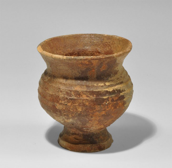 Medieval Style Ceramic Cup