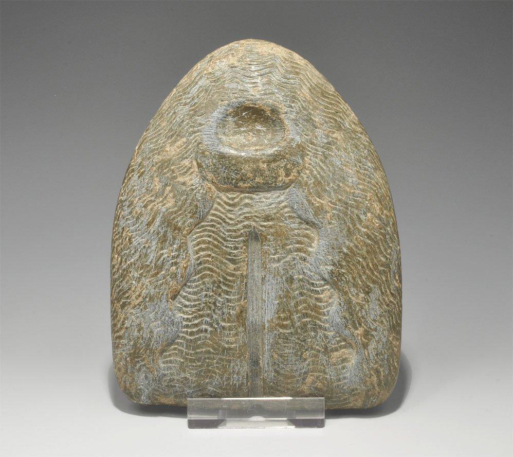 Near Eastern Carved Ritual Stone