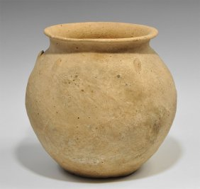 Bronze Age Terracotta Holy Land Vessel
