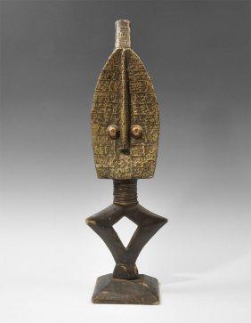 West African Wooden Kota Votive Figure
