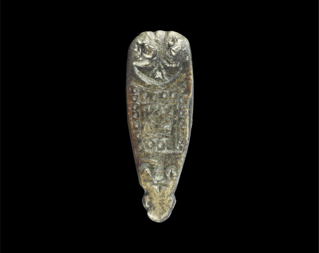 Anglo-Saxon Silver Strap End