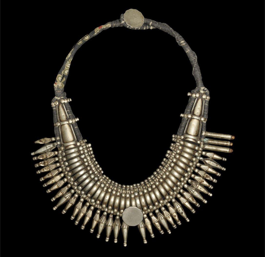 Ladakhan Silver Pendant Necklace