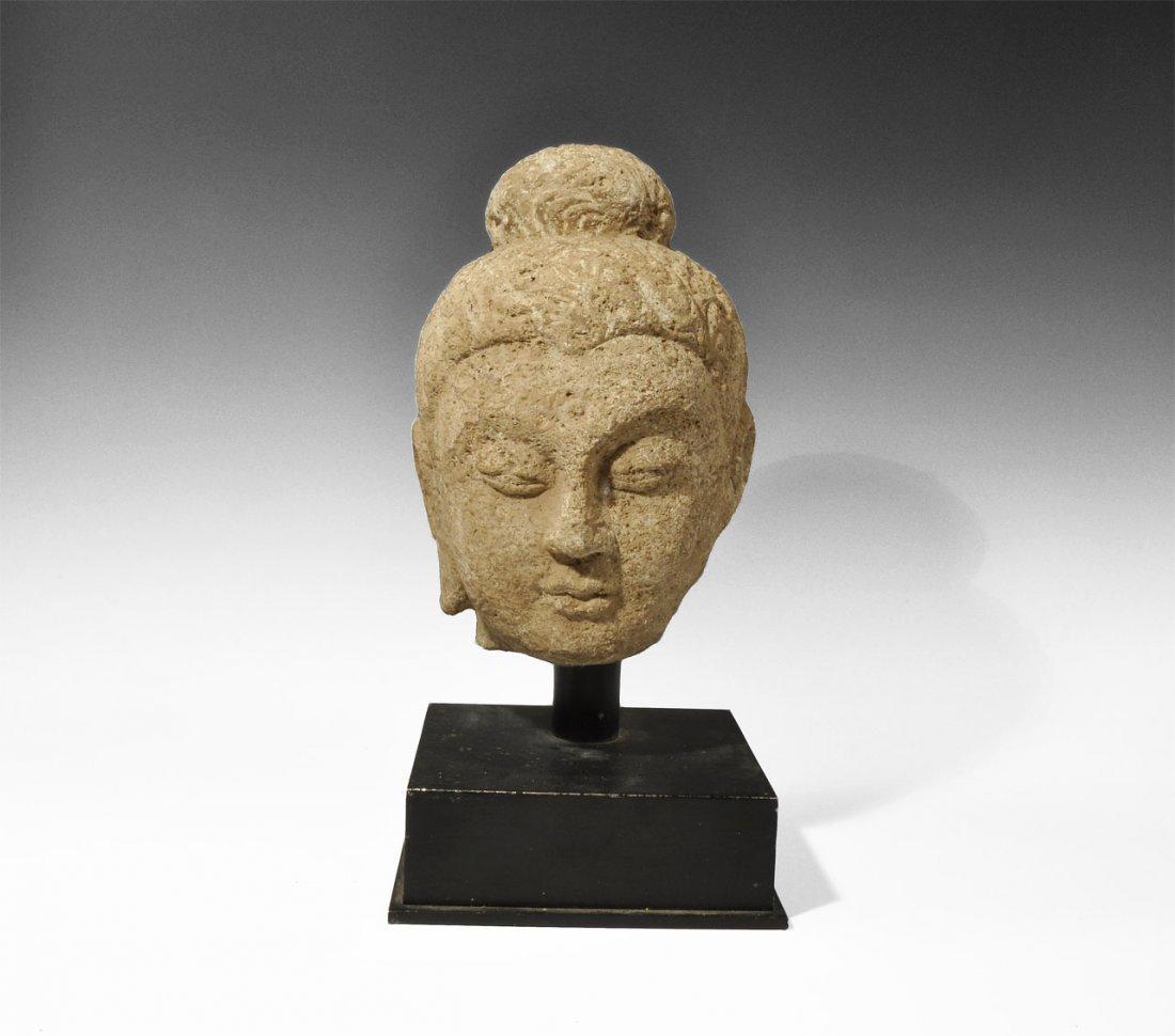 Gandharan Stone Bust