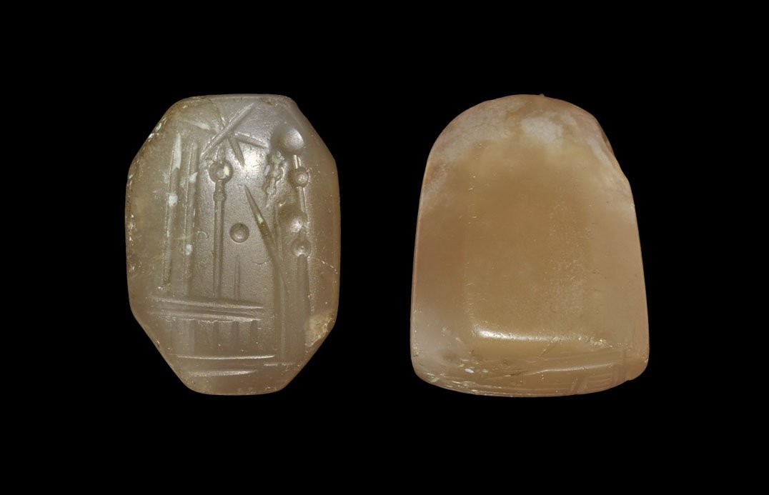 Neo-Assyrian Crystal Figural Stamp Seal