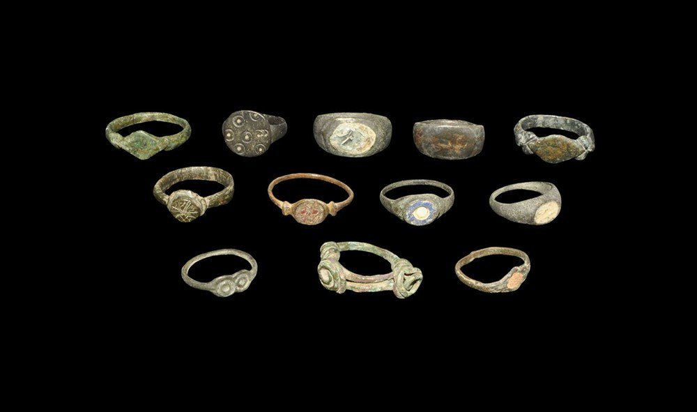 Iron Age Celtic to Roman Ring Collection