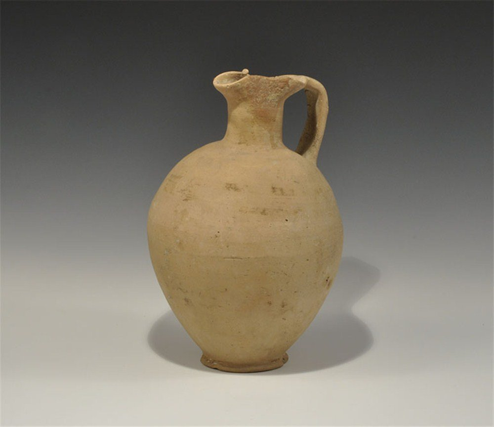 Greek Cypriot Bronze Age Trefoil-Mouth Jug