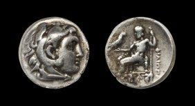 Greek Macedonia - Philip III - Hercules Drachm