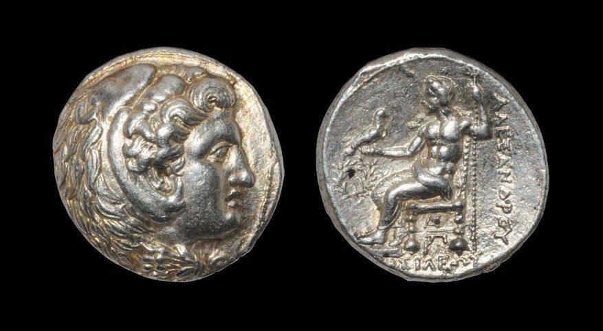 Greek Macedonia - Alexander III - Hercules Tetradrachm