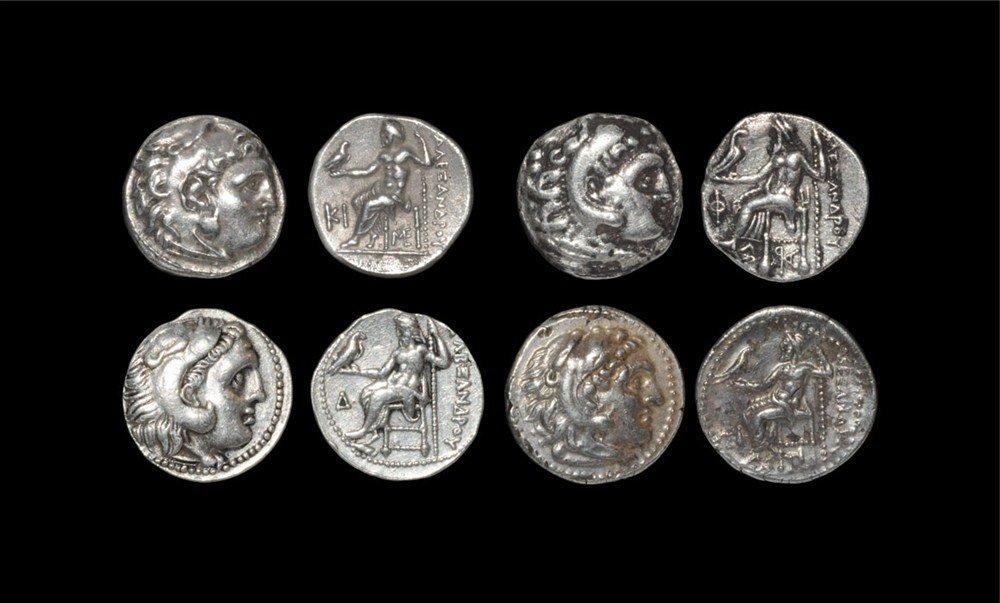 Greek Alexander III - Hercules Drachms [4]